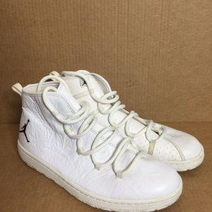 Nike Air Jordan Galaxy White Basketball Sneakers